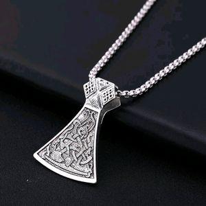 Dawapara Wicca Viking Men Chopper Jewelry Amulet H